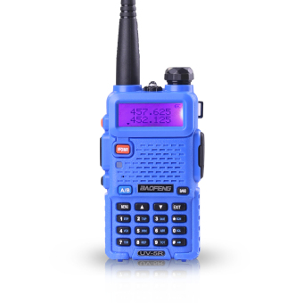 Baofeng / Pofung UV5R VHF/UHF Dual Band Two-Way Radio ( blue )