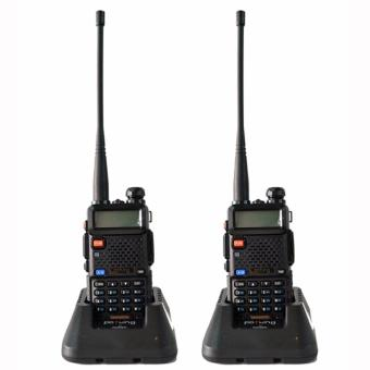 Baofeng / Pofung UV5R VHF/UHF Dual Band Two-Way Radio Set of 2(Black)