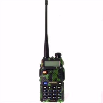 Baofeng UV-5R Walkie Talkie Dual Band Radio With Earpiece(Camouflage)