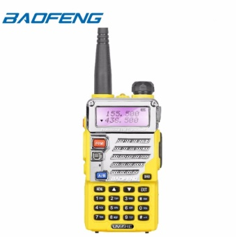 Baofeng UV-5RE VHF/UHF Dual Band Two-Way Radio (Yellow)