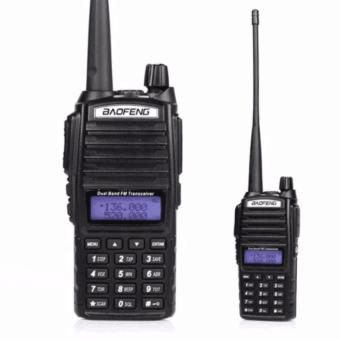 Baofeng UV-82 High Power 8Watts Dual Band VHF/UHF Two Way Radio (Black)