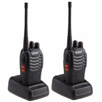 Baofeng/Pofung BF-888s UHF Transceiver Two-Way Radio Set of 2(Black)