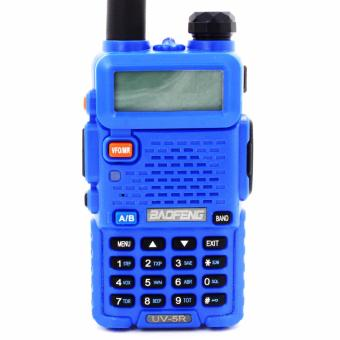 Baofeng/Pofung UV5R VHF/UHF Dual Band Two-Way Radio (Blue)