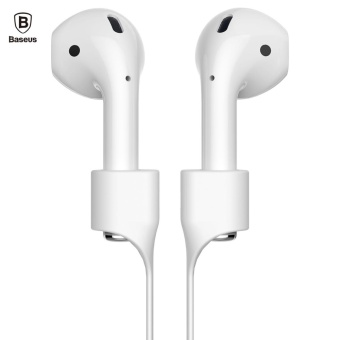 Baseus Earphone Strap Magnetic Adsorption Anti-lost Wire RopeConnector Silicone Accessory for AirPods - intl