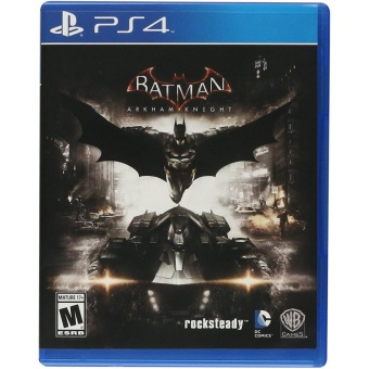 BATMAN ARKHAM KNIGHT PS4 GAME R3,R1 MINT CONDITION Price Philippines