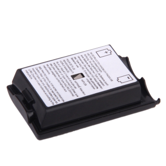 Battery Back Cover Pack Replacement for Xbox 360 Set of 2 - Black - picture 2