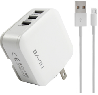 Bavin 3-Ports USB Fast Charger 3.2A Output