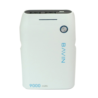 Bavin 9000mAh Power Bank (White) - picture 2