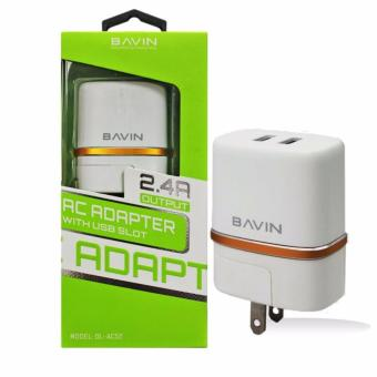 BAVIN AC52 2 Ports USB Charger Adapter Price Philippines