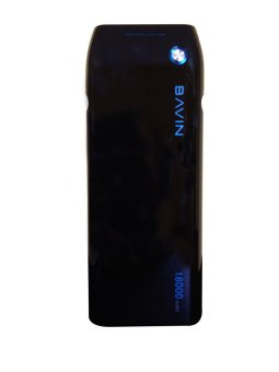 Bavin Fast-Charging Portable Powerbank 18,000mAh (Black)