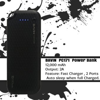 BAVIN PC171 12000mAh Quick Charging Power Bank (Black)