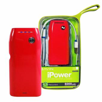 BAVIN PC235 6000mAh Portable Power Bank(Red) Price Philippines