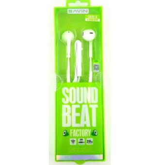 Bavin Sound Beat Earphones(white) Price Philippines