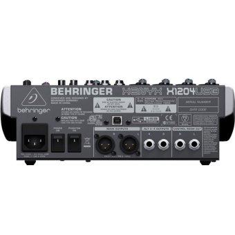 Behringer XENYX X1204USB 12-input Bus Mixer with USB - 3