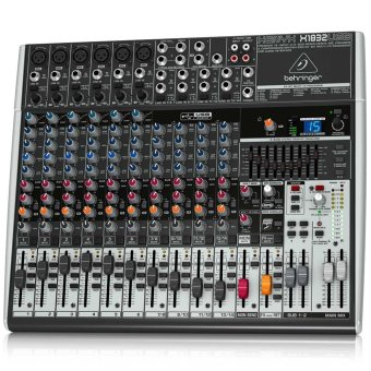 Behringer Xenyx X1832 USB Sound Mixer (Black)