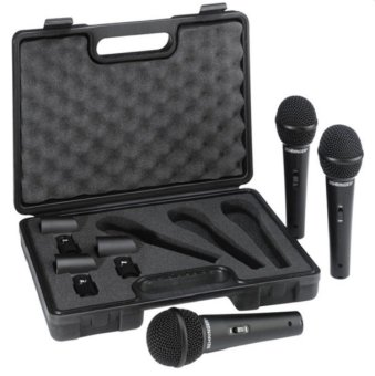 Behringer XM1800 Dynamic Microphone Set of 3