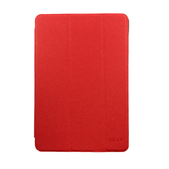 Belk Smart Cover Case for iPad Mini (Red)