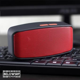 Below SRP N10 U Extreme Portable Bluetooth Speaker (Red)