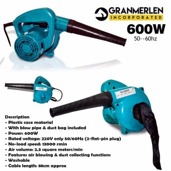 Best Selling Blower New Affordable Dual Electric Blower / Vacuum600WATTS