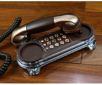 BIGCAT antique telephone retro fashion creative home and hoteloffice phones landline phones - intl
