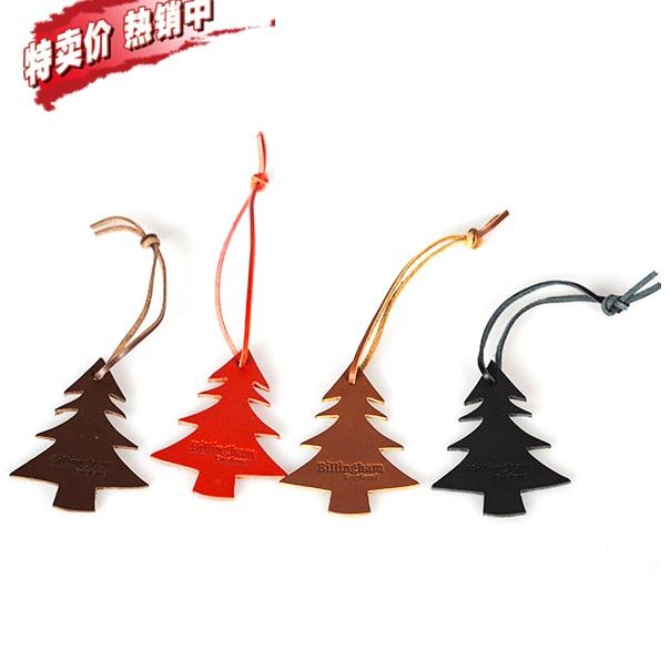 Billingham leather Christmas tree