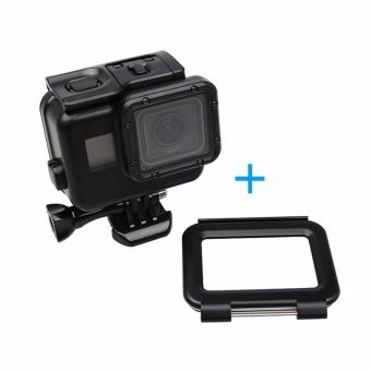 Black 45M Underwater Waterproof Housing Shell Case Cover TouchScreen Backdoor With Touch screen for Go Pro Hero 5 for GoPro5Accessories