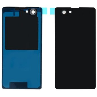 Black Back Case Housing Battery Door Rear Cover For Sony Xperia Z3- intl