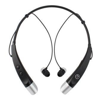 Black Bluetooth HBS-500 Wireless Stereo Neckband Headset Price Philippines