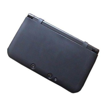 Black Crystal Silicon Case Cover Skin Protector Sleeve for Nintendo3DS LL/XL - intl