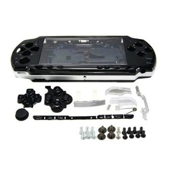 Black Full Housing Shell Faceplate Case Parts Replacement for SonyPSP 2000 Console - intl Price Philippines