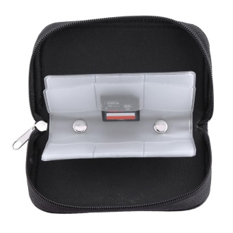 Black Nylon Memory Card Storage Carrying Pouch Case ForCF/SD/SM/SD/SDHC Card - intl - 5