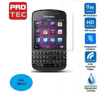 Blackberry Q10 tempered glass screen protector