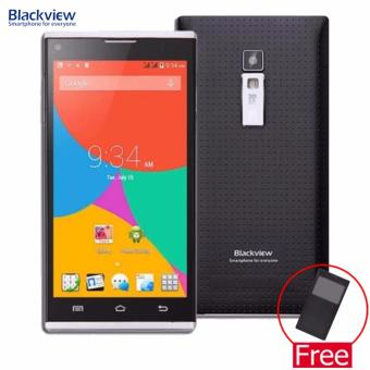 Blackview Mobile CROWN 16GB 5.0 IPS Display (Black) with FREE Flip Cover Case