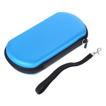 Blue EVA Case Carrying Bag w/Strap for Sony PS Vita PSV