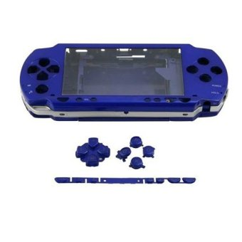 Blue Full Housing Repair Mod Case + Buttons Replacement for SonyPSP 1000 Console - intl Price Philippines