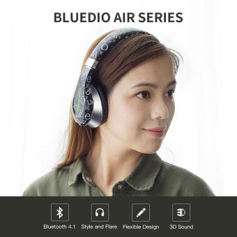 Bluedio A Bluetooth Flexible Headphone (Black)