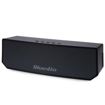 BLUEDIO BS-3 Portable Wireless Bluetooth Speaker 3D Surround SoundSystem AUX (Black)
