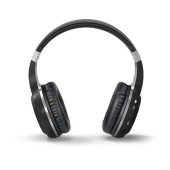 Bluedio HT Wireless Bluetooth 4.1 Stereo Headphones Earphone built-in Mic handsfree for calls and music Headset (Black) - Intl
