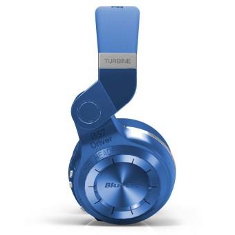 BLUEDIO T2+ Turbine Plus Bluetooth Headphones Wireless Headset MP3Player (Blue) - 3