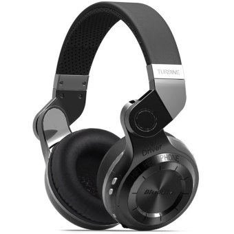 Bluedio T2 Turbo Wireless Bluetooth 4.1 Stereo Headphone Noise canceling Headset with Mic High Bass Quality (Black)