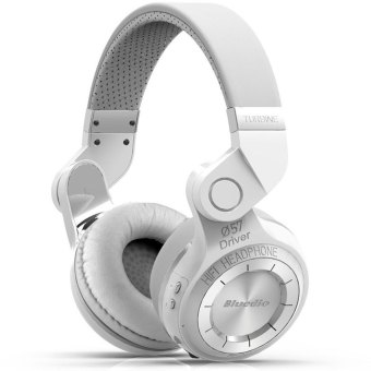 Bluedio T2 Wireless Noise Canceling Bluetooth Headset (White)