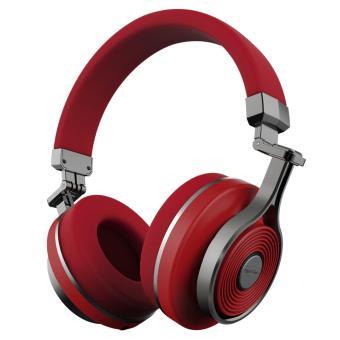 Bluedio T3 (Turbine 3rd) Extra Bass Wireless Bluetooth 4.1 Stereo Headphones(Red) - 2