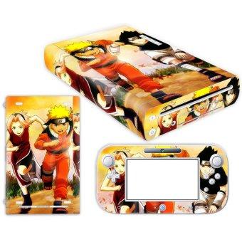 Bluesky Naruto Uzumaki Nintendo Wii U Skin NEW CARBON FIBER system skins faceplate decal mod (Intl)