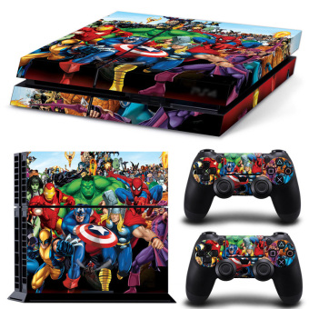 Bluesky Ps4 Console Full Skin Sticker Faceplates (Multicolor) (Intl)