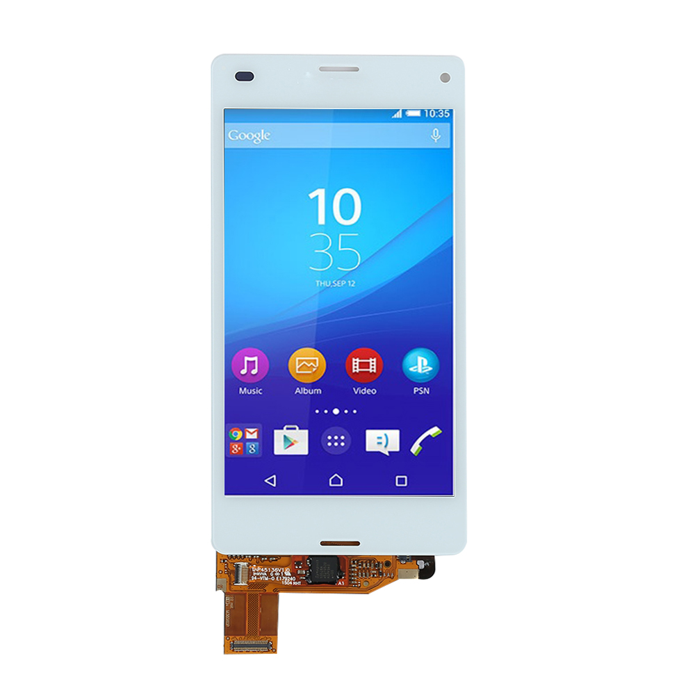 Digitizer Lcd Display For Sony Xperia Z3 Mini D5803 Black Intl Touch Screen D5833 Compact Original Source Bluesky White With Assembly Adhesive Tools
