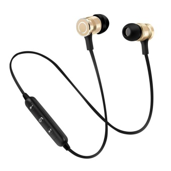 Bluetooth 4.1 version Magnetic stereo In-Ear Headset Earphone iOS Android phone - intl