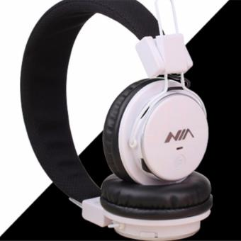 Bluetooth Headsets FM Radio AUX Micro SD Slot Sport Stereo Headphones Nia Q8