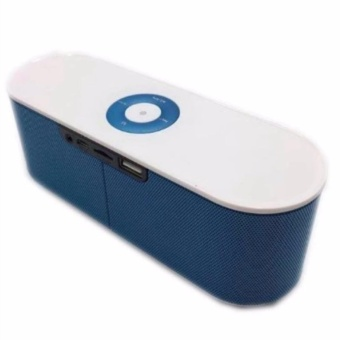 Bluetooth Speaker Mini Portable High-fidelity Sound Built-in MIC(Black/Silver/Blue)S207