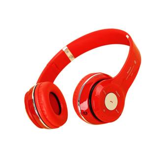 Bluetooth Stereo Headphones (Red) - Intl