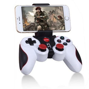 Bluetooth Wireless Game Controller, Gamepad Joystick for IOS iPhoneiPad , Android Smart Phone, Smart TV(White) Price Philippines